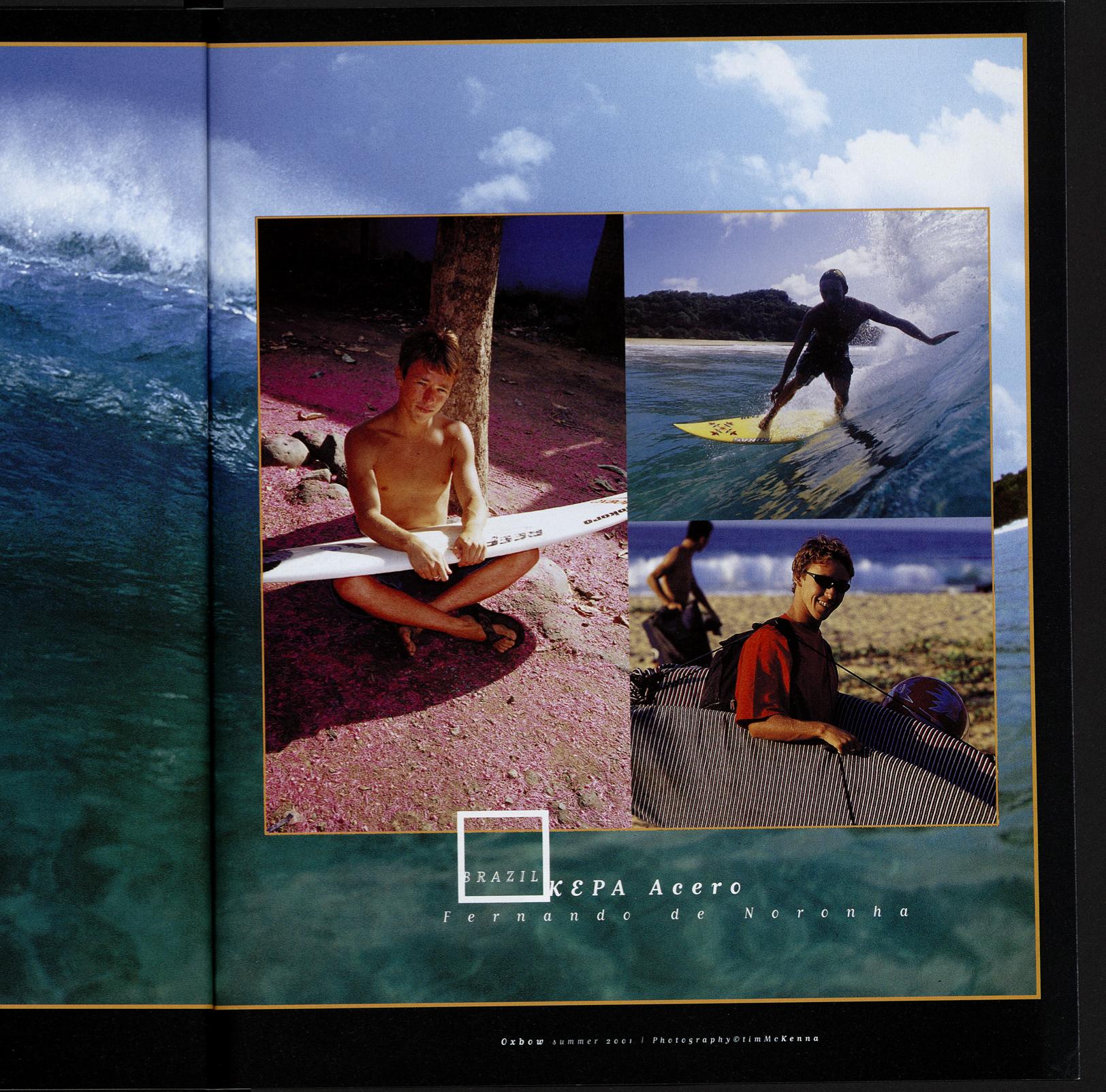 Kepa Acero catalogue Oxbow 2001
