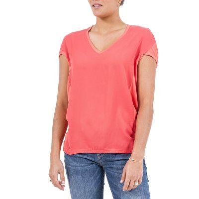 Tee-Shirt TENEZZA - Rouge Corail