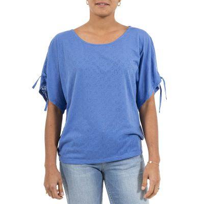 Tee-Shirt TRECENTA - Bleu Celeste