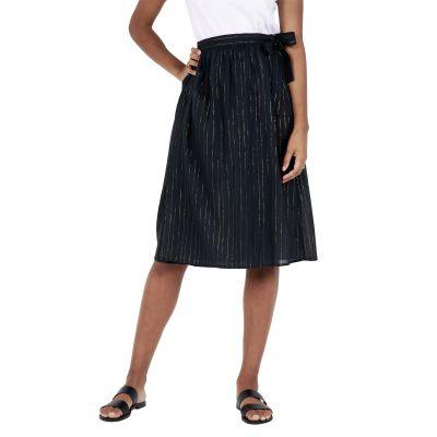 Long skirt UNICA - Noir