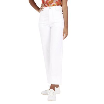 Pantalon Flare BALI - Blanc