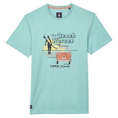 Tee-Shirt TIZZLA - Lagoon