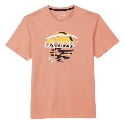 Tee-Shirt TONTY - Pamplemousse