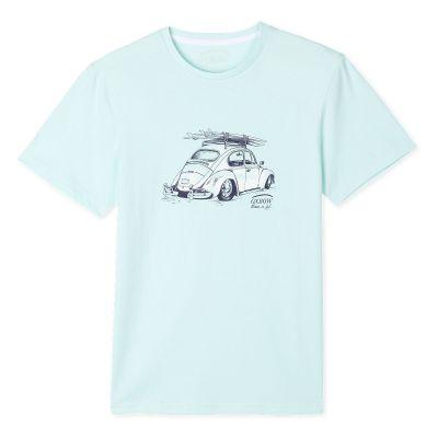 Tee-Shirt TICOX - Bleu