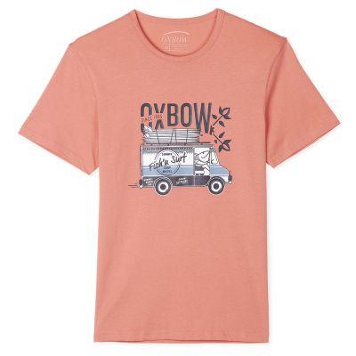 Tee-Shirt TIMECA - Pamplemousse