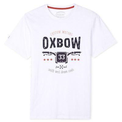 Tee-Shirt TUSTOM - Blanc