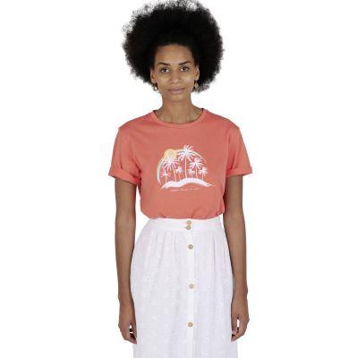 Tee-Shirt TARO - Pamplemousse