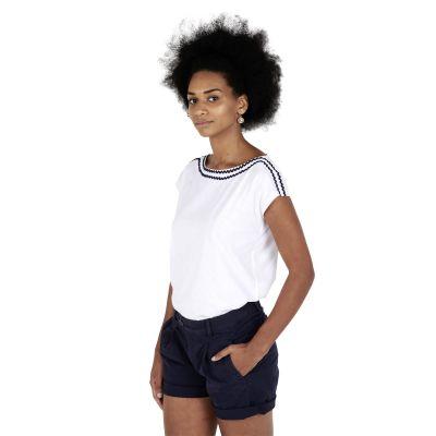 Tee-Shirt TROPIQUE - Blanc
