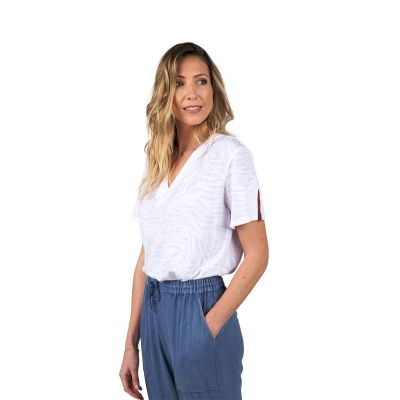 Tee-Shirt TOZAR - Blanc