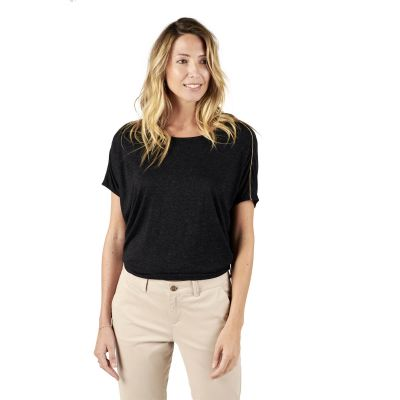 Tee-Shirt TULIPE - Noir