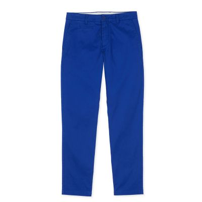 Chino pants REANO - Electric Blue