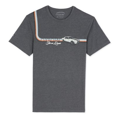 Tee-Shirt TOSNO - Anthracite Chiné