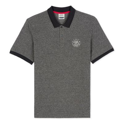 Polo NOURT - Anthracite Chiné
