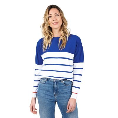 Sweater POWELL - Electric Blue