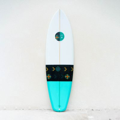 Board ZAKA - Twin fin Diams 6'3
